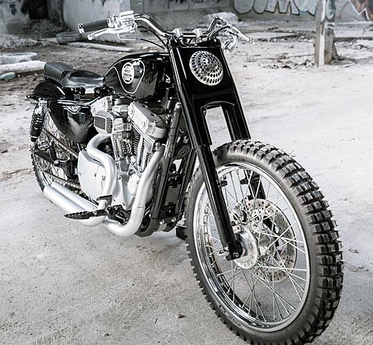Urban Scrambler At Cyril Huze Post Custom Motorcycle News
