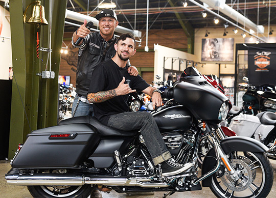 "Harley-Davidson And Wounded Warrior Project Surprise Veteran With New Bike To Launch Mission ""Thank you"""