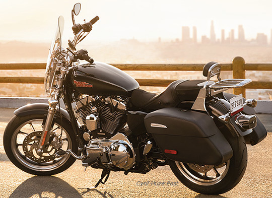New Harley Davidson Superlow 174 1200t Big Touring Features