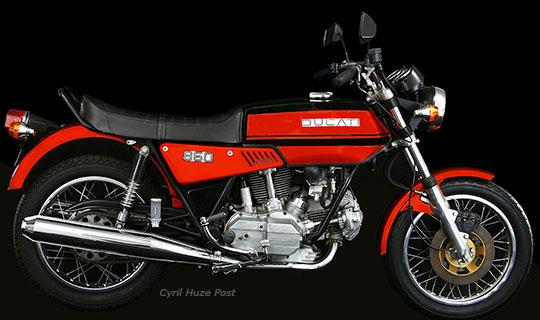 flashback. 1975 ducati 860gt. at cyril huze post – custom