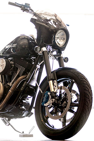 Kraus Sport Performance Inverted Front End Kits For Harley Davidson