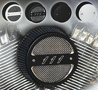 """New Wimmer Intakes For Indian Chief 111"""" Thunder Stroke"""