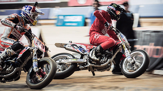 Harley Flat Track >> Harley Versus Indian In 2017 Enjoy The American Rivalry And