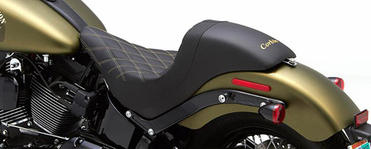 Custom Seat For Harley Slim Model. The Wall By Corbin. at ...