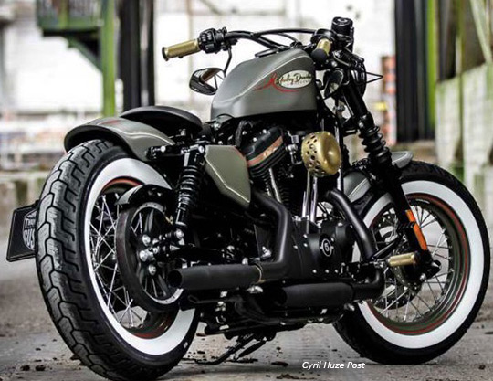 Hipster Chic Forty-Eight Sportster at Cyril Huze Post – Custom ...