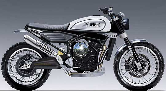In July 2017, Norton Entered Into A 20 Year Design And Licence Agreement  With Zongshen Manufacturing Of China For A New, 650cc Twin Cylinder Engine.