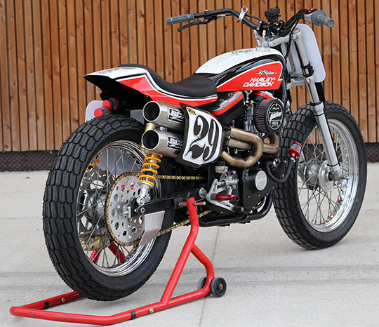 Custom Sportster Tracker At Cyril Huze Post Motorcycle News