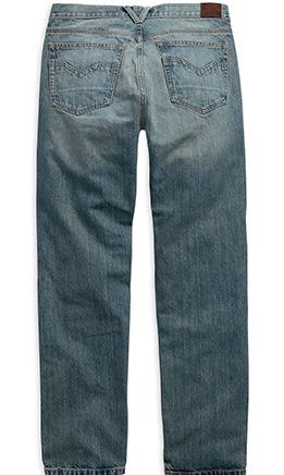 2H-D-Men's-Modern-Straight-Jeans-back