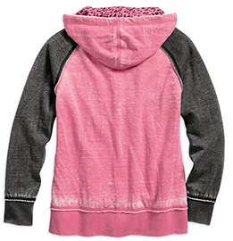 2pink-label-leopard-accent-hoodie-back