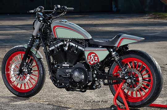 Custom King Iron 883 Sportster By Ricks At Cyril Huze Post