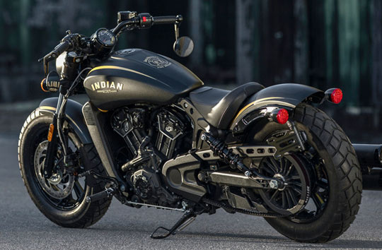 Indian Motorcycle And Jack Daniels Unveil Limited Edition Scout