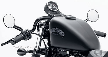 Hands Down On Your Sportster For Some Classic Café Racer Attitude at