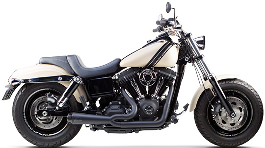 New Two Brothers Racing V-Twin Comp-S Exhaust System For Harley