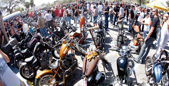 2012 Daytona Bike Week Flash News And Postcards At Cyril Huze
