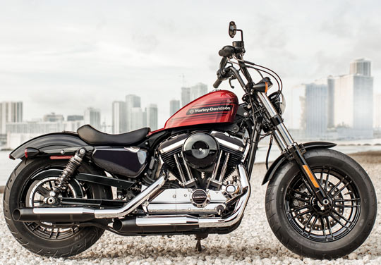 """Harley Davidson: Harley-Davidson Unveils Two """"New"""" Sportsters. A Forty"""