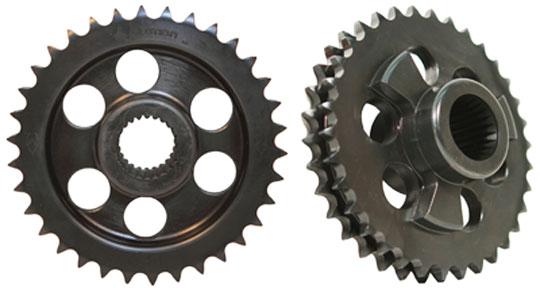 replacement motor sprocket for late harley-davidson big twins at