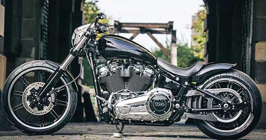 A 2018 Custom Harley Breakout To Devour Asphalt