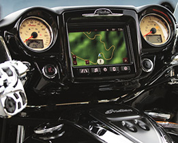 The Cockpit Has A Fairing With Color Matched Inner Dash 100 Watt Premium Audio System Chrome Speaker Grill Bezels And Glare Reducing Textured