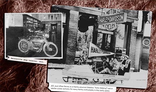did you know? the oldest continually operated harley-davidson