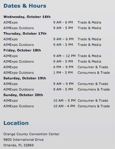 AIME-Schedule