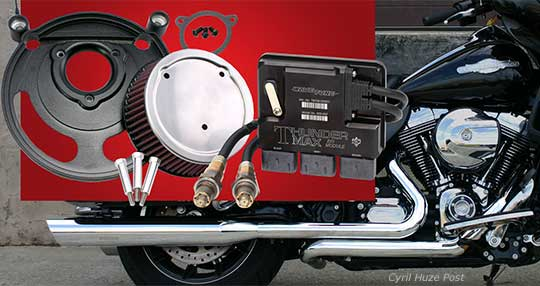 New Quiet Harley-Davidson Bagger Power By Thundermax. Install. Ride