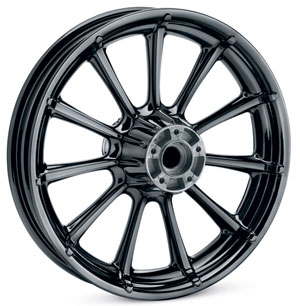 New Black Ice Finish Wheels Offered By Harley-Davidson at Cyril Huze