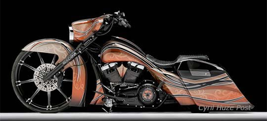 Radical Body Kit For Harley Touring Motorcycles At Cyril Huze Post