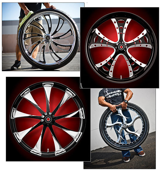 Cyril Huze Renegade wheels