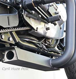 New DP Customs Box Pipe Exhaust System For Sportsters  Cool