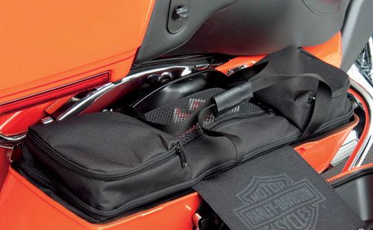 Some choose saddlebag organizers others will prefer saddlebag liners