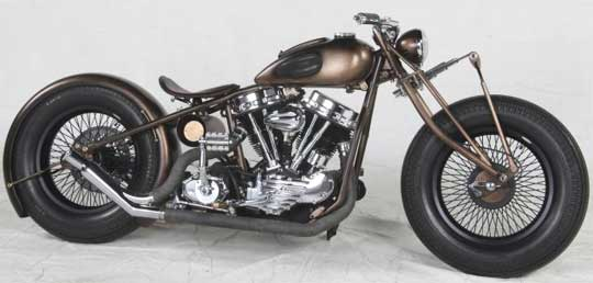 Harley Panhead Forever at Cyril Huze Post – Custom Motorcycle News