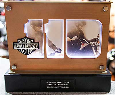 Harley-Davidson Offering 110th Anniversary Commemorative Photo Frame ...