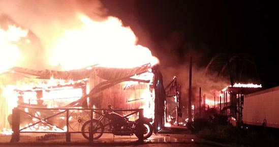 Sturgis full throttle saloon destroyed by fire owner michael ballard