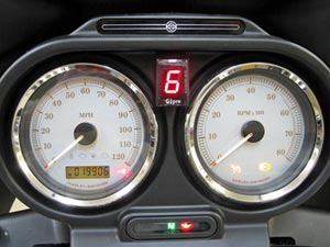 Add-On Gear Position Indicator at Cyril Huze Post – Custom