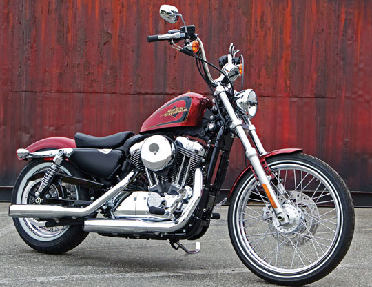 Harley-Davidson Seventy-Two Sportster. Because Of Road 72. Not The