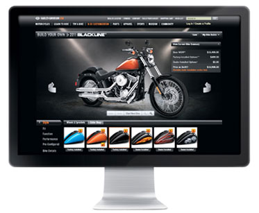 Harley Davidson Expands Bike Builder Web Tool At Cyril Huze Post Custom Motorcycle News