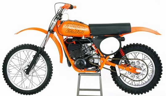 The Forgotten Harley-Davidson MX-250 Motocrosser at Cyril Huze Post