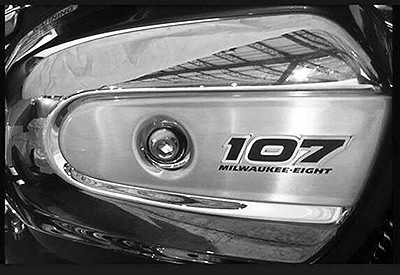 upcoming harley-davidson engine is called the milwaukee eight. 107