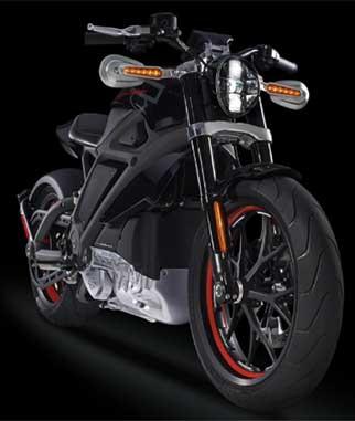 HarleyElecTricMotorcycle
