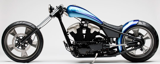 Honda Fury Turned Into A Furious Chopper At Cyril Huze Post Custom Motorcycle News