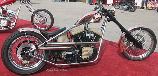 Jesse James Copper Chopper At Cyril Huze Post Custom Motorcycle News