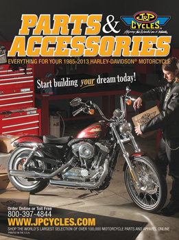 J&P Cycles® Releases Two New 2013 Catalogs. 1985-2013 Harley ...