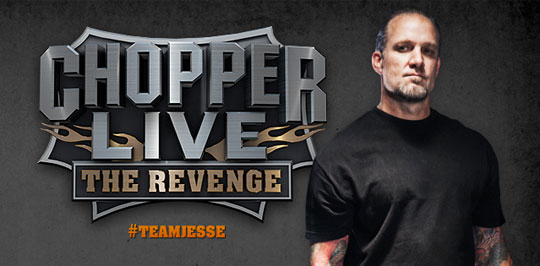 Off Chopper Live – The Revenge. Jesse James Pre-Show Building Drama