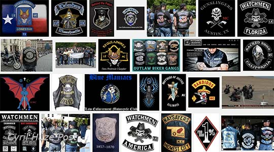 Police Biker Clubs Are They Hurting The Credibility Of Law Enforcement At Cyril Huze Post Custom Motorcycle News
