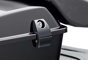 Premium-Tour-Pak-Latch-Black