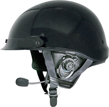 Bluetooth Stereo Headset And Intercom For Motorcycle Half Helmets At