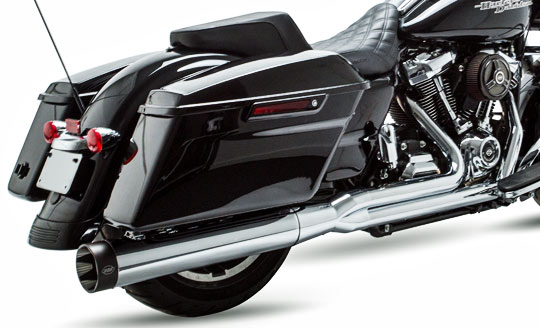 Sidewinder 2 into 1 Exhaust for Harley Milwaukee-Eight