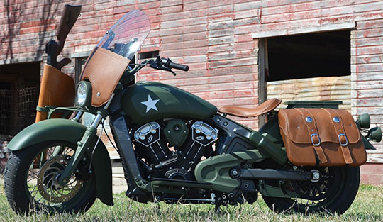 indian motorcycle announces its scout inspired custom series first