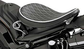 new leather solo spring seats from harley-davidson at cyril huze
