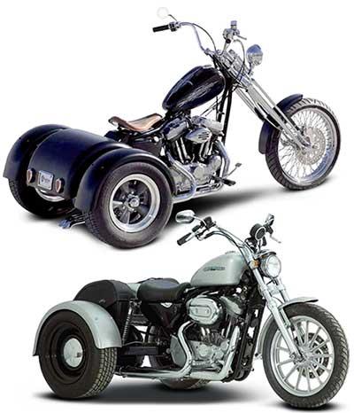 Sportster-Trikes